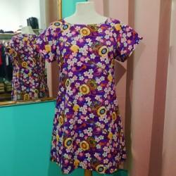 Journée Challenge Couture : Robe raglan (manches courtes)