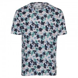 KNOWLEDGE COTTON APPAREL WATERBASED FLOWER PRINT