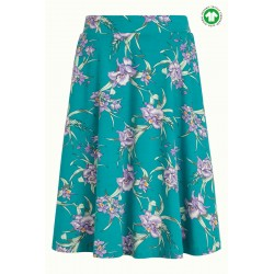 KING LOUIE SKIRT ROSELLE AZURE GREEN