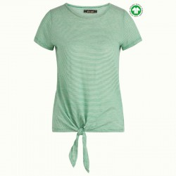 KING LOUIE KNOT T-SHIRT BABYLON STP GREEN