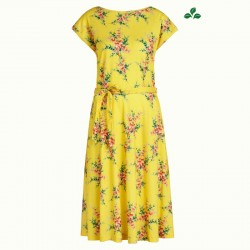 KING LOUIE GRACE DRESS NARA SUNNY YELLOW