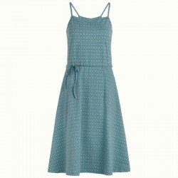 KING LOUIE BETTY SUMMER DRESS DOLPHIN BLUE