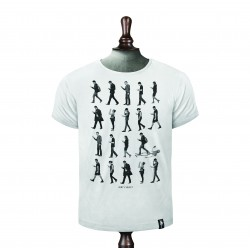 Phone Zombies T-shirt - Vintage White
