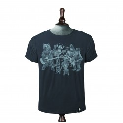 The Wild Bunch T-shirt - Charocal