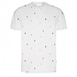 T-SHIRT JAAMES GLACE WHITE