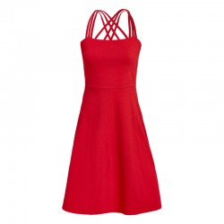 ROBE RILEY STRAPPY ROUGE