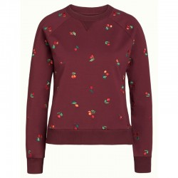 CHERRY SWEATER FANCY SWEAT WINDSOR RED