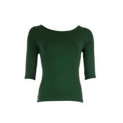SHIRT LINA GREEN TENCEL