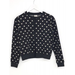 LUST FOR LIFE KNIT CARDIGAN BLACK