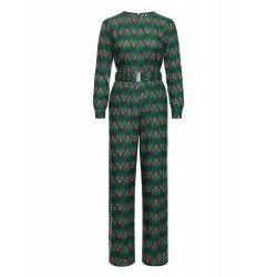 PERFECT MOMENTS JUMPSUIT GREEN S
