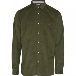 CORD SHIRT GREEN FOREST