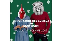 Pop Up Sotre au Mob Hôtel