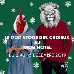 Pop Up Sotre au Mob Hôtel
