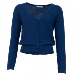 CARDIGAN GERDY NAVY BLUE XS