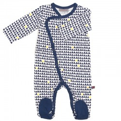 FROY AND DIND JUMPSUIT WITH FEET HORIZON