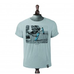 SCREEN SLAVER T-SHIRT HIGHRISE GREY