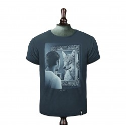 SELF REFLECTION T-SHIRT CHARCOAL