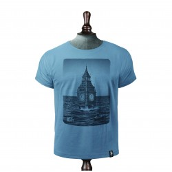 AFTER THE FLOOD T-SHIRT NOBLE BLUE