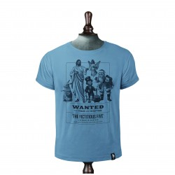 THE FICTITIOUS FIVE T-SHIRT NOBLE BLUE