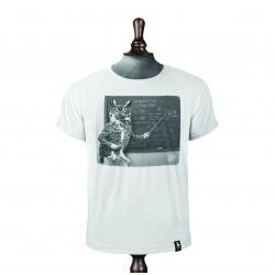 OWLGEBRA T-SHIRT VINTAGE WHITE