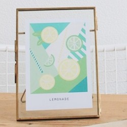 CARTE POSTALE LEMONADE
