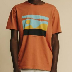 AIN'T NO SUNSHINE T-SHIRT TERRACOTTA