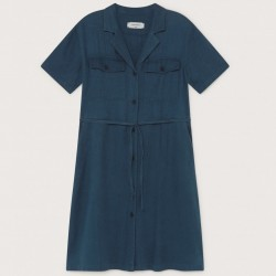 HEMP KAREN DRESS BLUE