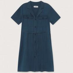 HEMP KAREN DRESS BLUE