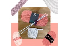 Initiation tricot : fabriquez un tawashi