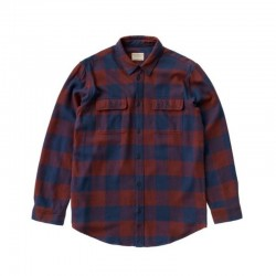 NUDIE JEANS GABRIEL BUFFALO CHECK RED/NAVY