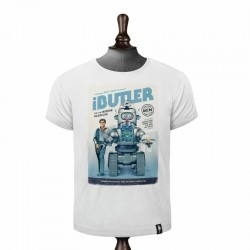 DIRTY VELVET IBULTER T-SHIRT VINTAGE WHITE