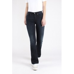 KUYICHI AMY BOOTCUT DARK FADED DEEP BLUE