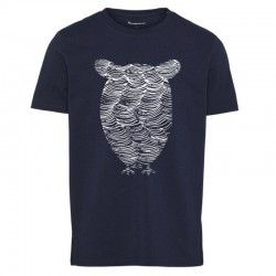 KCA ALDER TOTAL ECLIPSE TEE OWL WAVE PRINT