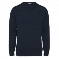 KCA FIELD TOTAL ECLIPSE O-NECK KNIT