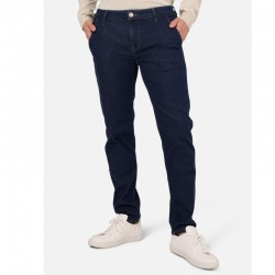 MUD JEANS DUNN CHINO HOMME STONE BLUE