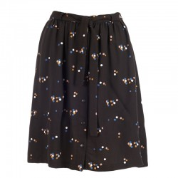 FROY AND DIND SKIRT CARLA DOTS BLACK