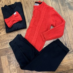 HIMAL JUMPER KOI RED