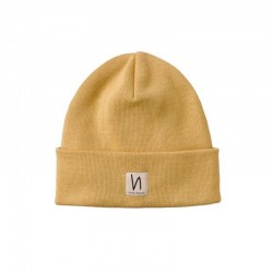 DEDICATED FALKSSON BEANIE PALE YELLOW