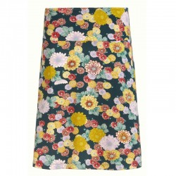 BORDER SKIRT KOSHO PINE GREEN XS