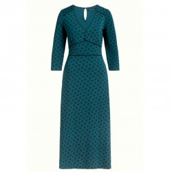 LYNN DRESS YORK POND BLUE XS