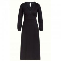 LYNN DRESS ECOVERO CLASSIC  BLACK