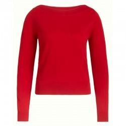 AUDREY TOP CHILI RED