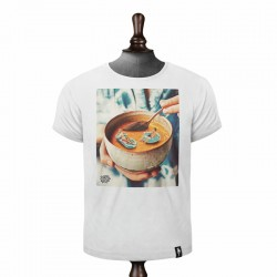 SOUP OF THE DAY T-SHIRT VINTAGE WHITE
