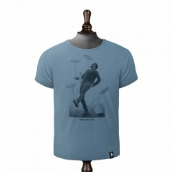 SPINNING PLATES T-SHIRT NOBLE BLUE