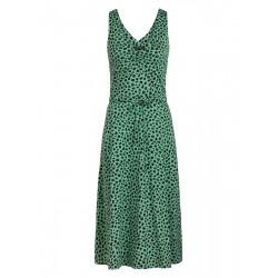 ANNA DRESS NEPTUNE GREEN