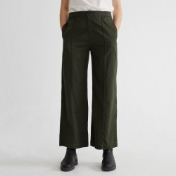THINKINGMU MAIA PANTS DARK GREEN