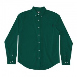 DEDICATED SHIRT VARBERG OXFORD EVERGREEN XS