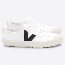 NOVA CANVAS WHITE BLACK VEJA