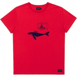 TAXI TEE RED