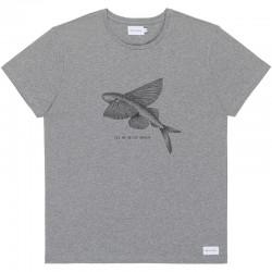 FLYING FISH TEE GREY